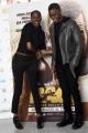 Foto/IPP/Gioia Botteghi 21/03/2016 presentazione al coni del film RACE, testimonial  FIONA MAY, l'attore protagonista STEPHAN JAMES selfie