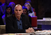 Foto/IPP/Gioia Botteghi 22/03/2016 Gianis Varoufakis ospite di Ballarò raitre