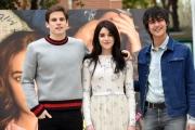 Foto/IPP/Gioia Botteghi 23/03/2016 presentazione del film UN BACIO, nella foto:  i tre protagonisti Rimau Grillo Ritzberger, Valentina Romani e Leonardo Pazzagli