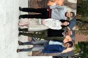 Foto/IPP/Gioia Botteghi 23/03/2016 presentazione del film UN BACIO, nella foto: il regista Ivan Cotroneo, i tre protagonisti Rimau Grillo Ritzberger, Valentina Romani e Leonardo Pazzagli