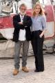 Foto/IPP/Gioia Botteghi 24/03/2016 presentazione del film  Ustica, nella foto il regista del film Renzo Martinelli e Federica Martinelli