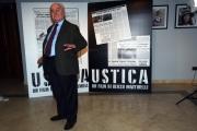 Foto/IPP/Gioia Botteghi 24/03/2016 presentazione del film  Ustica, nella foto Il  giudice Rosario Priore
