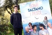 Foto/IPP/Gioia Botteghi 29/03/2016 presentazione del film COME SALTANO I PESCI nella foto: Brenno Placido
