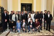 Foto/IPP/Gioia Botteghi 29/03/2016 presentazione dela fiction di canale 5,  FUOCO AMICOn ella foto : cast