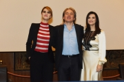 Foto/IPP/Gioia Botteghi 30/03/2016 presentazione del programma di raiuno Laura e Paola, con Laura Pausini e Paola Cortellesi  con Campo Dall'Orto