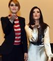 Foto/IPP/Gioia Botteghi 30/03/2016 presentazione del programma di raiuno Laura e Paola, con Laura Pausini e Paola Cortellesi