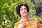 Foto/IPP/Gioia Botteghi 01/04/2016 Roma presentazione della Fiction UNA PALLOTTOLA NEL CUORE 2, in onda su raiuno, nella foto: Cecilia Dazzi