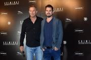 Foto/IPP/Gioia Botteghi 08/04/2016 Roma presentazione del film CRIMINAL, nella foto:  il regista ARIEL VROMEN e il protagonista KEVIN COSTNER