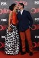 Foto/IPP/Gioia Botteghi 19/04/2016 Roma red carpet per la serie tv di Sky Outcast, nella foto: Massimiliano Varrese ed Eleonora