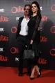 Foto/IPP/Gioia Botteghi 19/04/2016 Roma red carpet per la serie tv di Sky Outcast, nella foto: Rossella Brescia con il marito Luciano Cannito