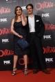 Foto/IPP/Gioia Botteghi 19/04/2016 Roma red carpet per la serie tv di Sky Outcast, nella foto: Isabella Adriani con Vittorio Palazzi Trivelli