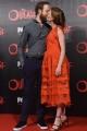Foto/IPP/Gioia Botteghi 19/04/2016 Roma red carpet per la serie tv di Sky Outcast, nella foto: protagonista della serie Wrenn Schmidt con marito Stphene Morrison