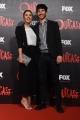 Foto/IPP/Gioia Botteghi 19/04/2016 Roma red carpet per la serie tv di Sky Outcast, nella foto: Martina Pinto con fidanzato