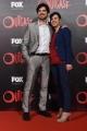 Foto/IPP/Gioia Botteghi 19/04/2016 Roma red carpet per la serie tv di Sky Outcast, nella foto: Emanuele Bosi con compagna