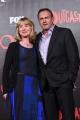 Foto/IPP/Gioia Botteghi 19/04/2016 Roma red carpet per la serie tv di Sky Outcast, nella foto: protagonista della serie Philip Glenster con moglie