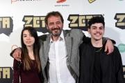 Foto/IPP/Gioia Botteghi 19/04/2016 Roma presentazione del film ZETA, nella foto: DIEGO GERMINI, ANGELICA GRANATO RENZI, ALDO VINCI