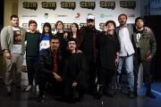 Foto/IPP/Gioia Botteghi 19/04/2016 Roma presentazione del film ZETA, nella foto: il regista COSIMO ALEMA' ed il cast