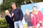 Foto/IPP/Gioia Botteghi 26/04/2016 Roma presentazione del film LA COPPIA DEI CAMPIONI, nella foto:  Massimo Boldi e Max Tortora