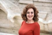 Foto/IPP/Gioia Botteghi 02/05/2016 Roma presentazione del film LA BUONA USCITA, nella foto:   GEA MARTIRE