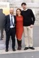 Foto/IPP/Gioia Botteghi 02/05/2016 Roma presentazione del film LA BUONA USCITA, nella foto:  il regista Enrico Iannaccone  MARCO CAVALLI  GEA MARTIRE