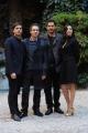 Foto/IPP/Gioia Botteghi 05/02/2016 Roma presentazione del film LO CHIAMAVANO JEEG ROBOT, nella foto:  il regista GABRIELE MAINETTI e gli attori CLAUDIO SANTAMARIA, LUCA MARINELLI e ILENIA PASTORELLI.