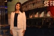 Foto/IPP/Gioia Botteghi 04/05/2016 Roma Virginia Raggi a porta a porta
