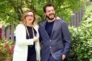 Foto/IPP/Gioia Botteghi 05/05/2016 Roma presentazione in rai della fiction FELICIA IMPASTATO, nella foto: Carmelo Galati, Lunetta Savino