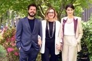 Foto/IPP/Gioia Botteghi 05/05/2016 Roma presentazione in rai della fiction FELICIA IMPASTATO, nella foto: Carmelo Galati, Lunetta Savino, Linda Caridi