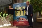 Foto/IPP/Gioia Botteghi 06/05/2016 Roma presentazione del film LA PAZZA GIOIA, nella foto Micaela Ramazzotti Paolo Virzì