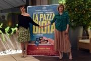 Foto/IPP/Gioia Botteghi 06/05/2016 Roma presentazione del film LA PAZZA GIOIA, nella foto Valeria Bruni Tedeschi e Micaela Ramazzotti