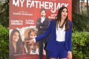 Foto/IPP/Gioia Botteghi 13/05/2016 Roma Presentazione del film MY FATHER JACK, nella foto:  ELISABETTA GREGORACI