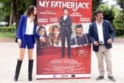Foto/IPP/Gioia Botteghi 13/05/2016 Roma Presentazione del film MY FATHER JACK, nella foto:   FRANCESCO PANNOFINO,  ELISABETTA GREGORACI