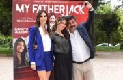 Foto/IPP/Gioia Botteghi 13/05/2016 Roma Presentazione del film MY FATHER JACK, nella foto:   FRANCESCO PANNOFINO,  CLAUDIA VISMARA, ELISABETTA GREGORACI