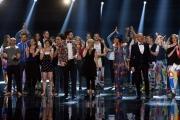 Foto/IPP/Gioia Botteghi 13/05/2016 Roma puntata finale di Italian_s got talent, sky, nella foto:  La Giuria Luciana Littizzetto, Frank Matano, Nina Zilli, Claudio Bisio