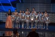 Foto/IPP/Gioia Botteghi 13/05/2016 Roma puntata finale di Italian_s got talent, sky, nella foto: Lodovica Covello e Società acrobatica Grugliasco