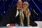 Foto/IPP/Gioia Botteghi 13/05/2016 Roma puntata finale di Italian_s got talent, sky, nella foto:  La Giuria Luciana Littizzetto, Claudio Bisio