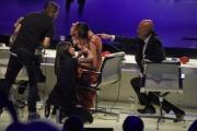 Foto/IPP/Gioia Botteghi 13/05/2016 Roma puntata finale di Italian_s got talent, sky, nella foto:    Nina Zilli, Claudio Bisio