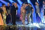 Foto/IPP/Gioia Botteghi 13/05/2016 Roma puntata finale di Italian_s got talent, sky, nella foto:      Moses , il vincitore suona l'armonica con Bisio