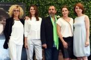 Foto/IPP/Gioia Botteghi 24/05/2016 Roma presentazione del film il traduttore, nella foto il regista Massimo Natale ed il cast femminile