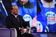 Foto/IPP/Gioia Botteghi 22/11/2016 Roma Puntata di Porta a porta con Berlusconi