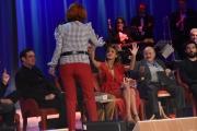 Foto/IPP/Gioia Botteghi 26/05/2016 Roma quarta puntata del Maurizio Costanzo Show, nella foto con Belen Rodriguez e Mrina Ripa di Meana