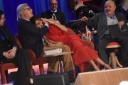 Foto/IPP/Gioia Botteghi 26/05/2016 Roma quarta puntata del Maurizio Costanzo Show, nella foto con Belen Rodriguez e Vittorio Sgarbi