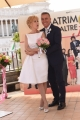 Foto/IPP/Gioia Botteghi 30/05/2016 Roma  presentazione della fiction di canale 5 MATRIMONI E ALTRE FOLLIE, nella foto Nancy Brilli e Massimo Ghini