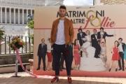 Foto/IPP/Gioia Botteghi 30/05/2016 Roma  presentazione della fiction di canale 5 MATRIMONI E ALTRE FOLLIE, nella foto    Josafat Vagni
