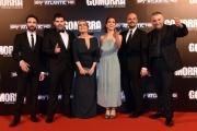 Foto/IPP/Gioia Botteghi 09/05/2016 Roma  Presentazione di Gomorra2 serie Sky, red carpet, nella foto:     i 6 protagonisti della serie