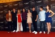 Foto/IPP/Gioia Botteghi 29/04/2016 Roma presentazione del film Tini la nuova vita di Violetta, nella foto Martina Stoessel ed il cast