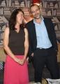 Foto/IPP/Gioia Botteghi 20/09/2016 Roma presntazione di Piazza pulita il programma della7, nella foto Sabina Guzzanti con Corrado Formigli