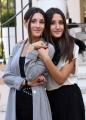 Foto/IPP/Gioia Botteghi 26/09/2016 Roma presntazione del film Indivisibili, nella foto: Angela e Marianna Fontana