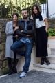 Foto/IPP/Gioia Botteghi 26/09/2016 Roma presntazione del film Indivisibili, nella foto: il regista Edoardo De Angelis, Angela e Marianna Fontana