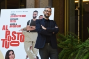 Foto/IPP/Gioia Botteghi 27/09/2016 Roma presentazione del film Al posto tuo, nella foto:  il regista Max Croci